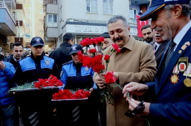"""Gaffar Okkan ve 5 polis memuru anıldı Diyarbakır Emniyet Müdürü Tacettin Aslan: """"Rabbim bizlere de böyle bir şehadeti nasip eder inşallah"""""""