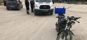 Bilecik'te otomobil ile motosiklet çarpıştı, 1 yaralı