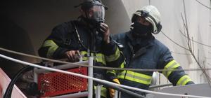 Eskişehir'de iş yeri yangını