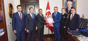 Vali Recep Soytürk'e Gümrük Günü ziyareti