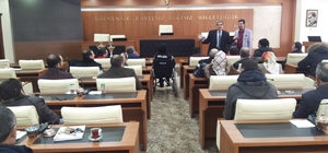 Engelliler Meclisinden Başkan Sekmen'e brifing