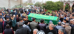 Hortumda hayatını kaybeden ASAT çalışanı gözyaşları arasında defnedildi Tarım ve Orman Bakanı Pakdemirli de törene katıldı