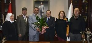 Başkan Ataç, şehit aileleri ile bir araya geldi