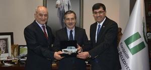 Kasap ve Kahveci'den Başkan Ataç'a ziyaret