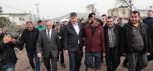 Başkan Türel, afet bölgesinde incelemelerde bulundu