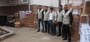 İHH İnsani Yardım Derneğinden Suriye'ye 425 bin liralık yardım