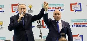 """Cumhurbaşkanı Erdoğan: """"Sekmen ile yol arkadaşlığımız onlarca yıl öncesine dayanıyor"""""""