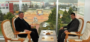 Emniyet Müdürü Baştuğ'dan Rektör Aldemir'e tebrik ziyareti