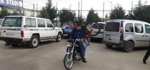 Bisikletler motosikletlerle taşındı Kilis'te 15 bin eve 15 bin bisiklet kampanyası