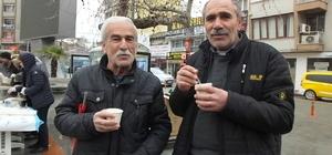 Burhaniye'de bin kişiye zeytinyağlı festival çorbası