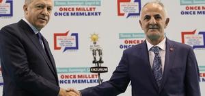 AK Parti Horasan Belediye Başkan Adayı Abdulkadir Aydın oldu