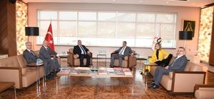 Kayseri OSB Türk Ticaret Merkezleri Projesinin ilkini Dubai'de hayata geçiriyor