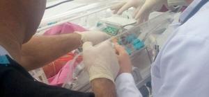 Giresunlu Bebek Kaygusuz Kayseri Şehir Hastanesinde tedavi oldu