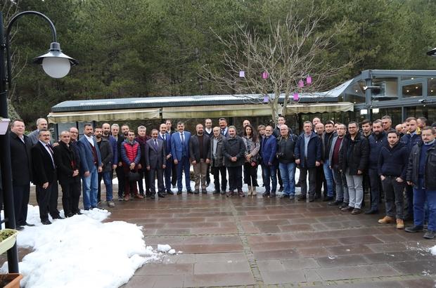 Çorum Valisi Mustafa Çiftçi gazetecilerle bir araya geldi
