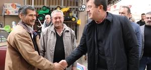 Zeybekci'den çiftçiye ve üreticiye destek sözü
