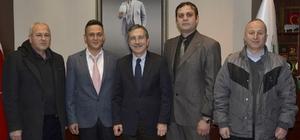 Başkan Ataç mobilyacı esnafı temsilcileri ile buluştu