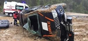 UMKE aracı kaza yaptı: 1 yaralı