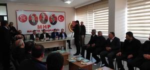 Belediye Başkanı Çınar'dan MHP'ye ziyaret