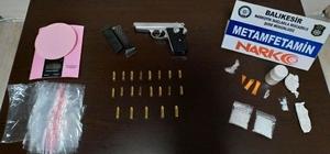 Balıkesir'de uyuşturucu ticareti yapan 2 kişi tutuklandı