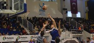 Türkiye Basketbol 1. Ligi: Petkim Spor: 104 - Selçuklu Basketbol: 100
