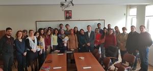 Kırgız şair Hitit Üniversitesi'ne konuk oldu