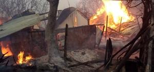 Kastamonu'da çıkan yangında 14 hayvan telef oldu Sobadan çıkan yangın evi ve hayvanlarını aldı
