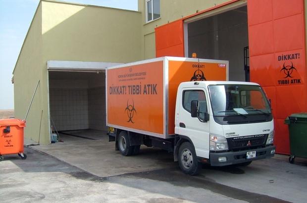 Konya Haberleri: Konya Büyükşehir Belediyesinde çevreci tesiste, tıbbi atıklar bertaraf ediliyor
