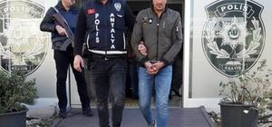 Antalya'da araçtan 30 bin TL çalan kişi yakalandı