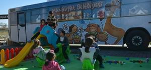 Manavgat Belediyesi'nden 'Gezici Oyun Evi'