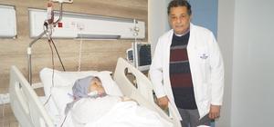 Karın ağrısı şikayetiyle gitti, böbrek kanseri ameliyatı oldu