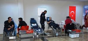 Çorum polisinden kan bağışı