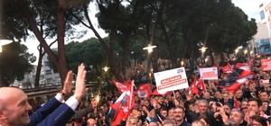 """CHP'nin İzmir adayı Soyer: """"Çok büyük bir heyecan içindeyim. Dokunsanız hüngür hüngür gidebilirim, gitmeyeceğim"""" """"İzmir takacak arkasına Türkiye'yi yürüyecek"""" """"Bizi kıskanmaları boşuna değil"""""""