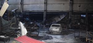 Dehşet hava aydınlanınca ortaya çıktı: 6 fabrikada büyük zarar Menemen'deki yangın dehşetinde geriye enkaz kaldı, zarar büyük