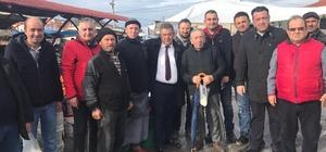 Cumhur İttifakı'nın Foça adayı Mersin, çalışmalara hızlı başladı