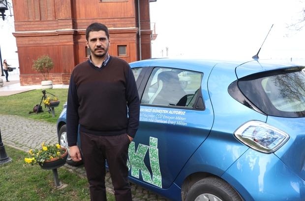 Yalova'nın elektrikli ilk resmi kurum arabası Yürüyen Köşk'te tanıtıldı Güneş santrali tamamlanır tamamlanmaz YASKİ sıfır maliyet ile çalışacak