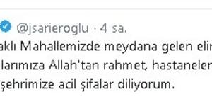 Jülide Sarıeroğlu ve Hüseyin Sözlü'den kazada hayatını kaybedenlerin yakınlarına başsağlığı mesajı