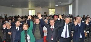 """Milletvekillerinden Seçer'e destek CHP'nin Mersin Büyükşehir Adayı Vahap Seçer: """"Mersin halkının kalbini kazanırsam, kendimi gerçekten zafer kazanmış sayacağım"""" """"Mersin değişim istiyor"""""""