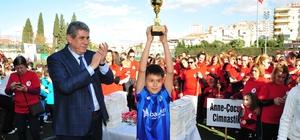 Balçova'da minikler, tatili spor yaparak geçirdi