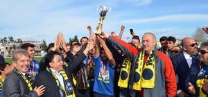 Didimspor şampiyonluk kupasını aldı