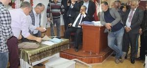 Söke Ziraat Odası'nda Mustafa Tanyeri dönemi Geçen dönem kura ile seçilen Kocabaş, bu dönem seçimi kaybetti