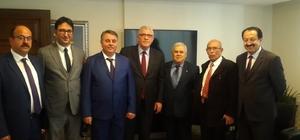 Denizli'den Ankara çıkarması Millet İttifakı Denizli Büyükşehir Belediye Başkan Adayı Ümit Bahtiyar Ankara'da Genel Merkezi ziyaret etti