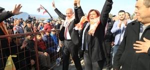 Başkan Çerçioğlu, Söke deve güreşi festivaline katıldı