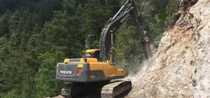 Mersin Orman Bölge Müdürlüğü, orman yolları yatırımlarının yüzde 20 üzerinde çıktı