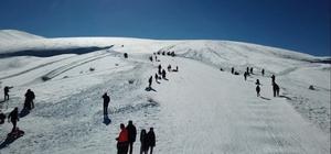 Derbent Aladağ sömestr tatilinde 10 bini aşkın kayakseveri ağırladı