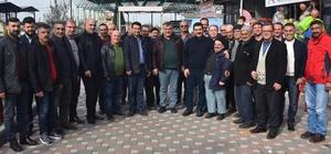 """Başkan Uğurlu'dan gönül belediyeciliği vurgusu Başkan Uğurlu: """"Şehri imar ederken insanımızı da ihmal etmiyoruz"""""""