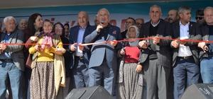 """Kocamaz, Zeytin-Yaprak Salamura Tesisi'nin açılışını gerçekleştirdi Mersin Büyükşehir Belediye Başkanı Burhanettin Kocamaz: """"Tarım bölgemiz ve insanımız için çok önemli"""""""