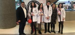 Tıp öğrencileri kansere 'dur' demek için vatandaşlarla buluştu