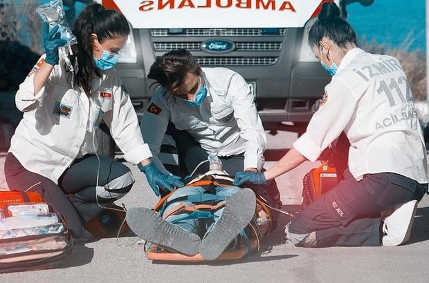 İzmir'de bulunan ambulansların hızı gelişmiş ülkeleri geçti İzmir'deki ambulanslar vakalara ulaşmadaki hızı ile gelişmiş ülkeleri de geçti