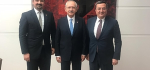 Batur'dan Kılıçdaroğlu'na ziyaret