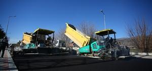 Denizli Büyükşehir Belediyesi Çardak'ta üst yapı çalışmalarına başladı